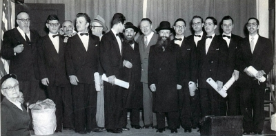 First Chag Hasemicha at RJJ - June 1952