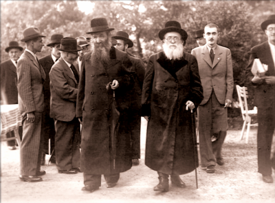 The Reisha Rav with Rav Zalman Sorotzkin